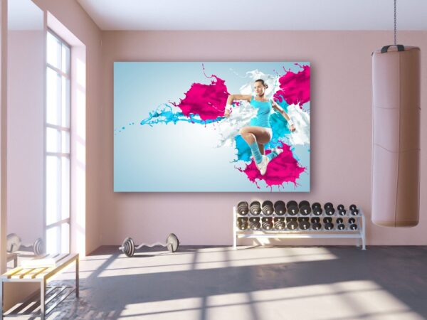 Tablou canvas instructor fitness
