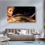 tablou canvas auriu magie golden