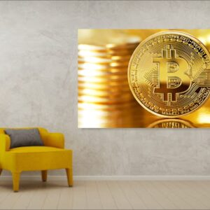 Tablou Canvas bitcoin