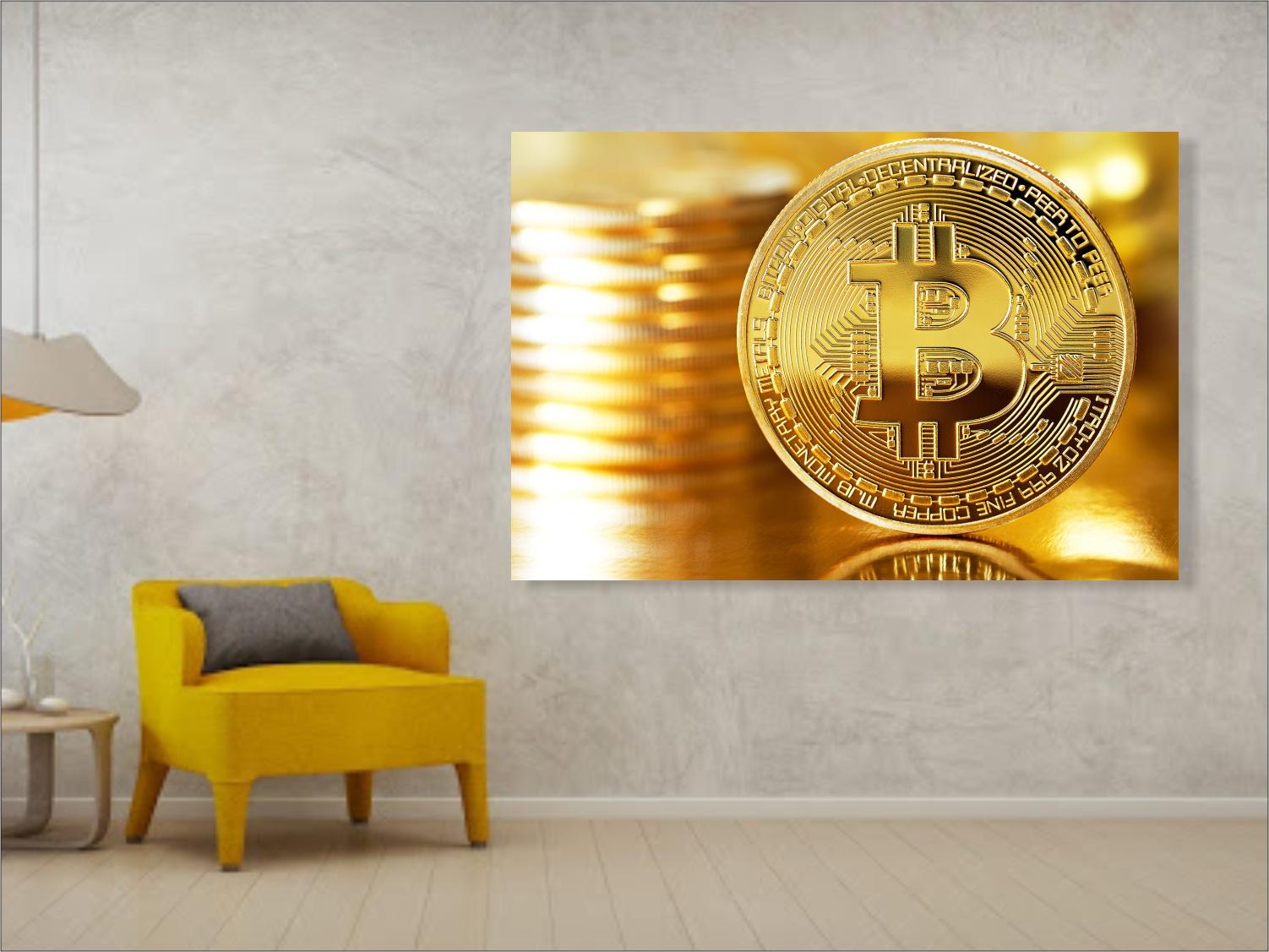 Tablou Canvas bitcoin