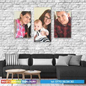 tablou multicanvas familie